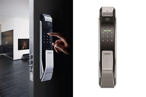 Thumbprint Door Lock by Samsung Fingerprint Door Lock