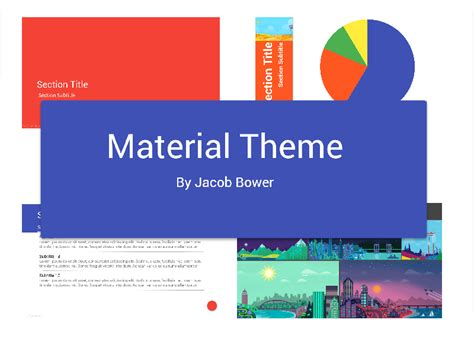 themes in stories powerpoint material theme for powerpoint uplabs