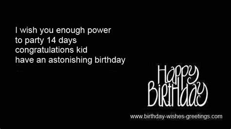 14th birthday greetings best friend 14 year old bday wishes