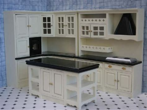 dolls house kitchen furniture kitchen dressers kitchen set black dolls