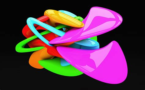 super colorful creative 3d wallpapers and colorful 3d backgrounds