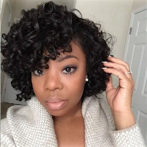 rodded bob hairstyles flexi rod set on stretched natural hair amazing natural