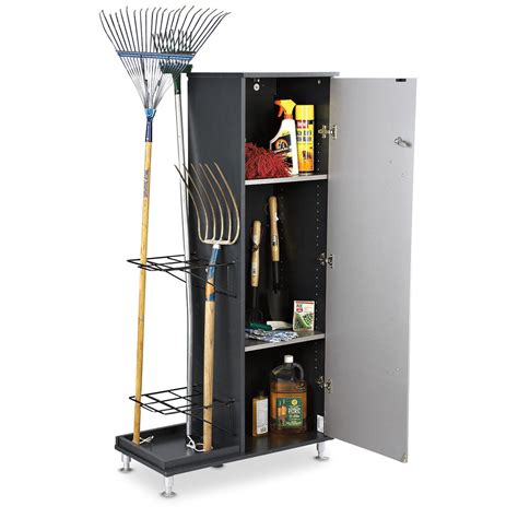 Cabinet Storage Rack by Locking Utility Cabinet With Storage Rack 142530