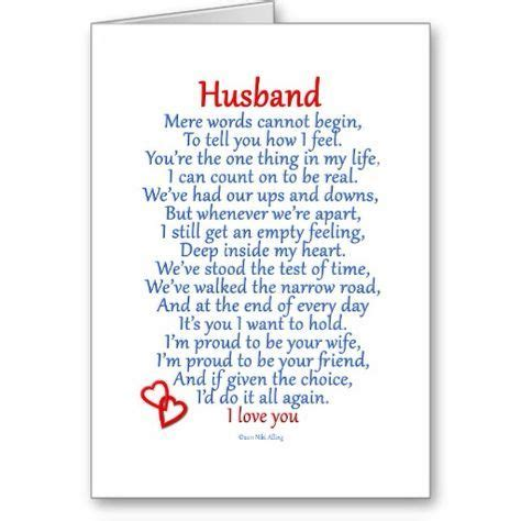 Husband Love Card Zazzle M Quotes And Sayings