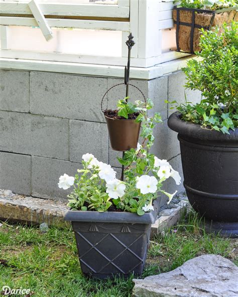 diy planter with tiered pots darice