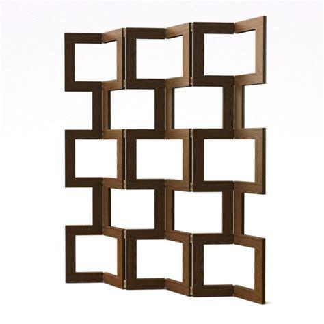 modern wood room divider 3d model cgtrader