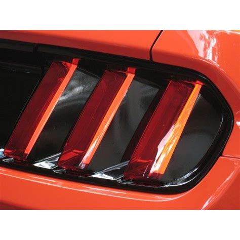mustang tail light vinyl black out panel kit 2015 2017