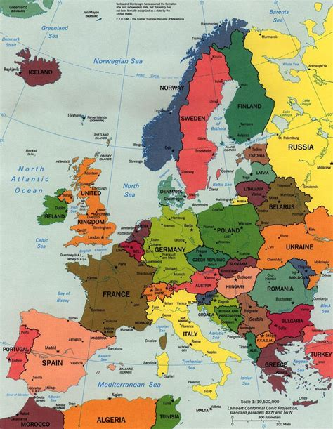map of european continent map of europe continental pictures map of europe