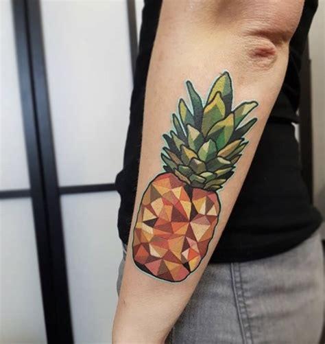 geometric tattoo tumblr geometric pineapple