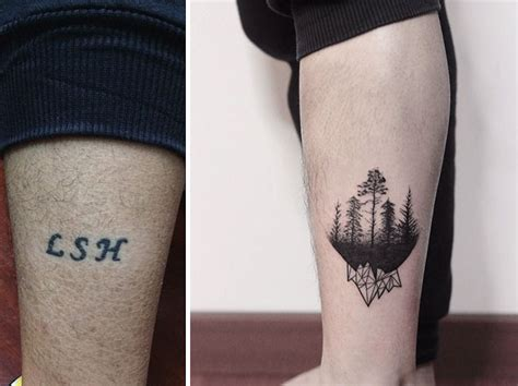 tattoo fail before and after awesome cover up tattoo ideas that transform shameful