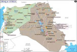 Iraq And Syria Map by Map Of Iraq And Syria