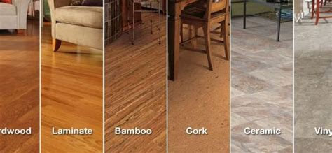 Types Of Kitchen Flooring Ideas by Different Types Of Kitchen Flooring Wood Floors