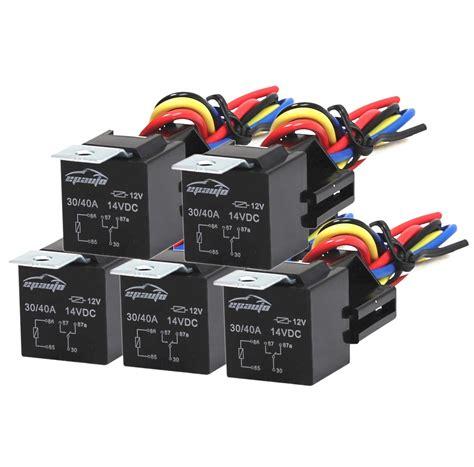 Bor Mini Bosch epauto relay harness spdt 12v bosch style 4 makers electronics