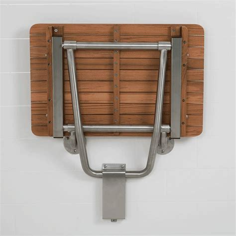 Shower Wall Mount teakworks4u ada wall mount shower seat