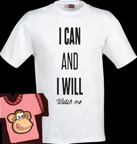 Hoodie I Can And I Will i can and i will me t shirt design on the t shirt