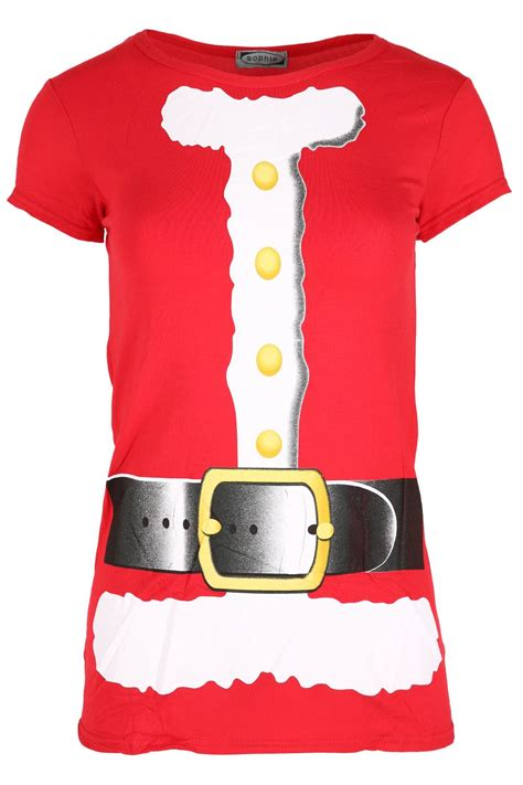 ladies christmas xmas santa claus beard costume belt