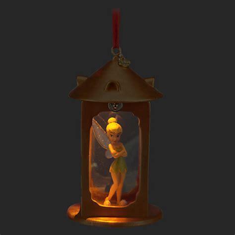 Disney Store Tinkerbell Light Up Lantern 2014 Sketchbook Light Tinkerbell