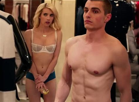 emma roberts new film emma roberts dave franco naked in racy new trailer for