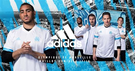 olympique marseille   home kit released footy headlines