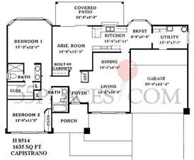 sun city west az floor plans h8514 capistrano floorplan 1635 sq ft sun city