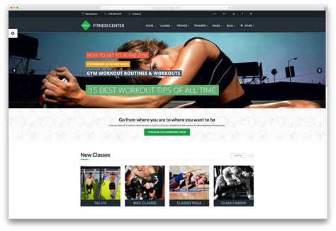 best website for health and fitness 20 greatest health themes 2016 for health club
