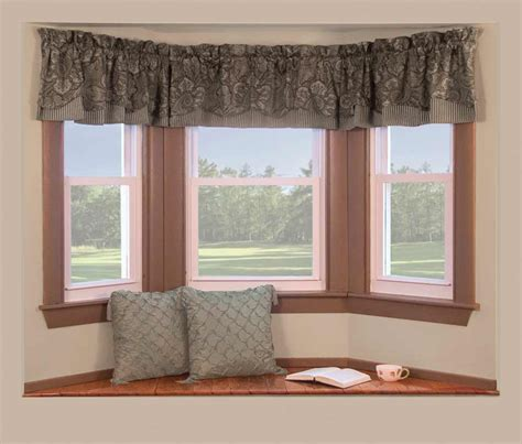 bay window curtains cost installing bay window feel the home