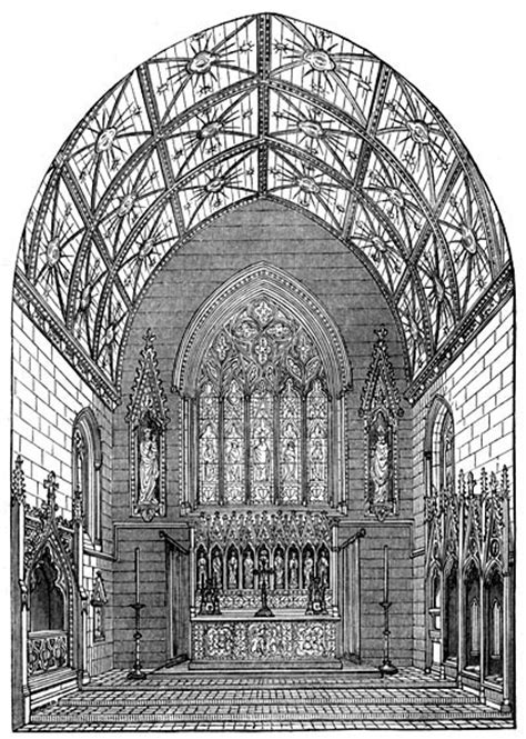 awn pugin chancel st giles cheadle by augustus welby northmore