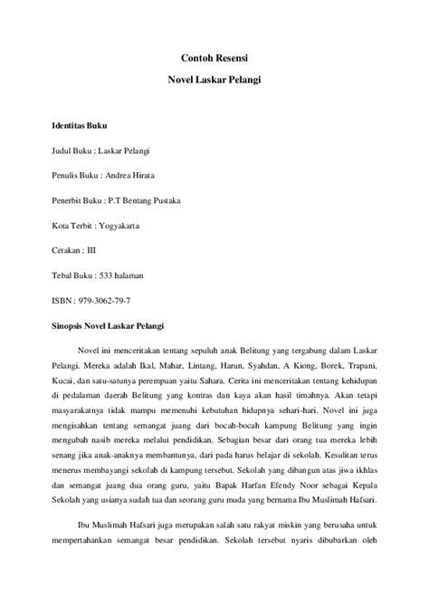 Contoh Sinopsis Novel Panjang | Cerpen