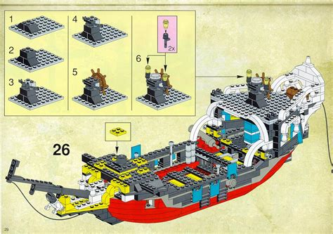 Lego Brick Wange Ship 040330 bricks argz