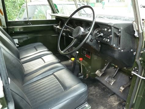 land rover series 3 interior sla 215l 1973 land rover series iii lpg land rover