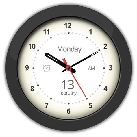 clock widgets for android free widget big analog clock widget android forums at androidcentral