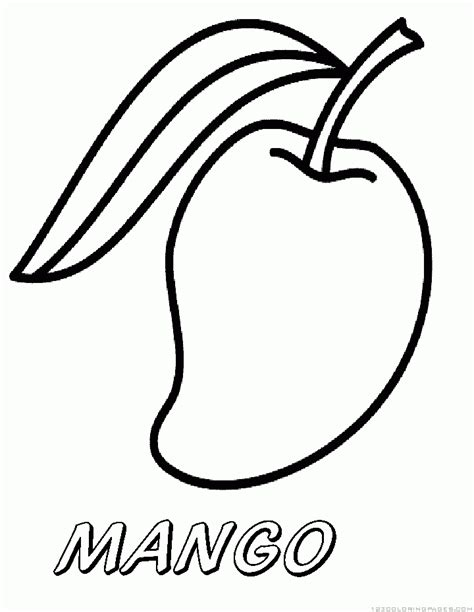 mango coloring pages preschool colouring pages for mango mango coloring pages sheets