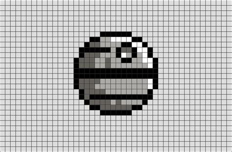 star wars death star pixel art brik