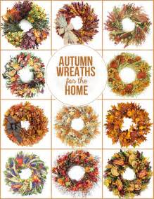 Decorative Wreaths For Home Autumn Wreaths For The Home Live Laugh Rowe