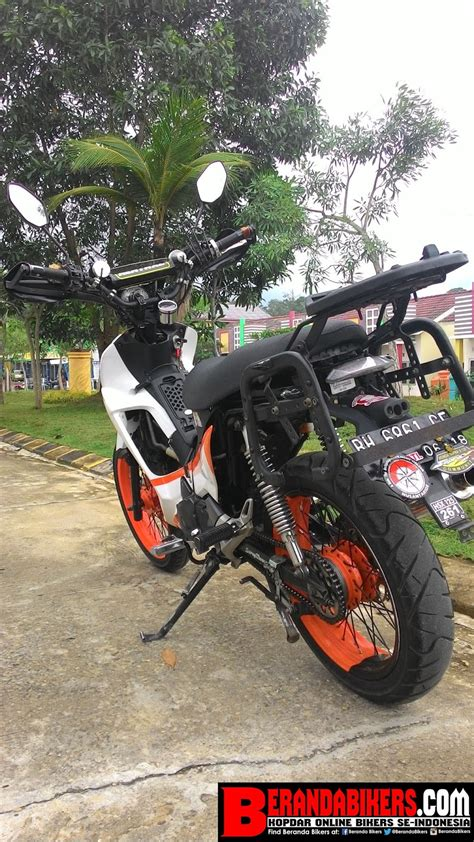 indonesia modifikasi foto modifikasi motor supra x 100cc terkeren dan terbaru