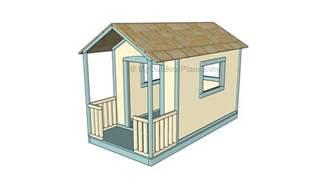 Playhouse Floor Plans Kids Playhouse Plans Myoutdoorplans Free Woodworking