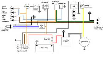 simple wiring diagram yamaha xt500 forum