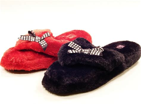 fuzzy flip flop slippers for womens womens corkys pajama ii fuzzy flip flop slippers 6