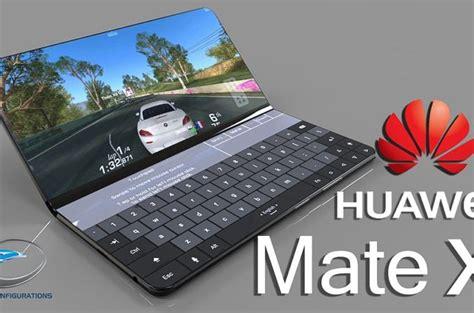 huawei mate    foldable smartphone  doubles   tiny laptop techeblog