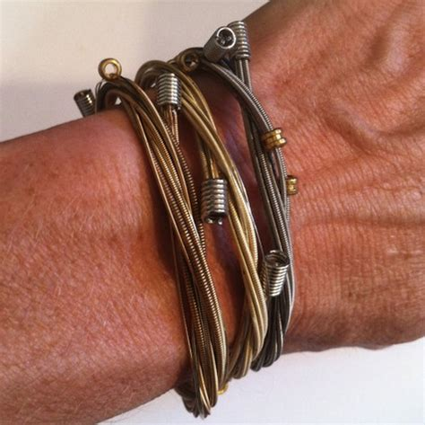 how to make jewelry out of guitar strings guitar string bracelets what i really want for