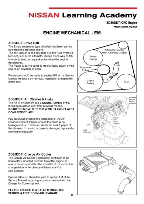 05 nissan pathfinder belt diagram wiring schematic