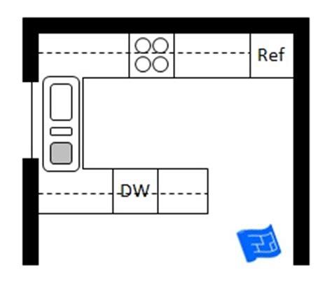 u shaped kitchen layout dimensions | www.pixshark.com
