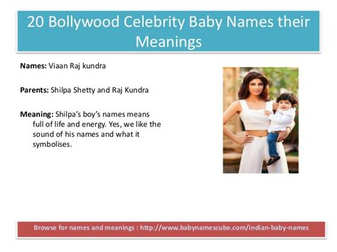 celebrity name meaning top bollywood celebrity baby names their meanings