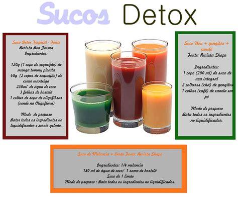 Suco Detox Receita Facil by Suco Detox Aprenda Receitas De Sucos Que Ajudam A Dar Um
