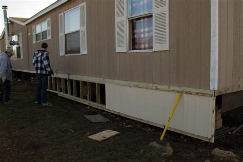 can you put a mobile home in your backyard mobile home skirting lanailens