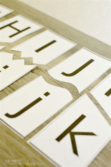Letter Cards Printable Letter Cards