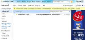 Hotmail inbox hotmail email inbox page