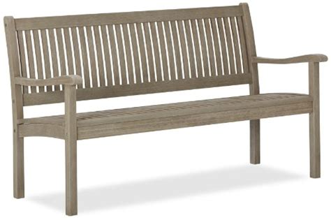 strathwood gibranta all weather hardwood 2 seater bench strathwood all weather hardwood bench outdoorandabout com