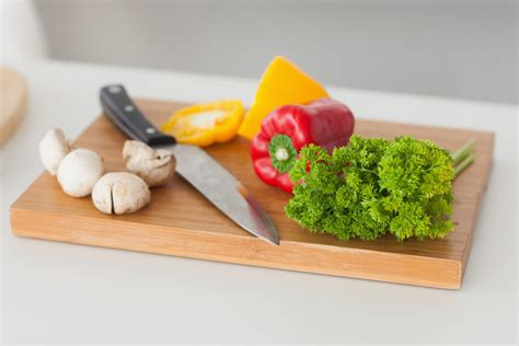 cooking board food preparation words on wellness