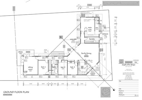 house site plan how to read house construction plans